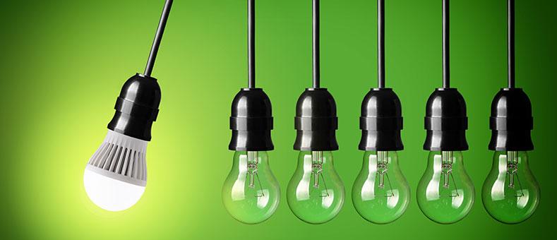 Combate la subida de la luz con LED