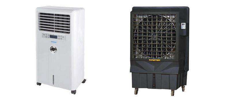 Aircoolers para combatir el calor