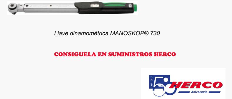 Llave MANOSKOP® 730, una herramienta con éxito