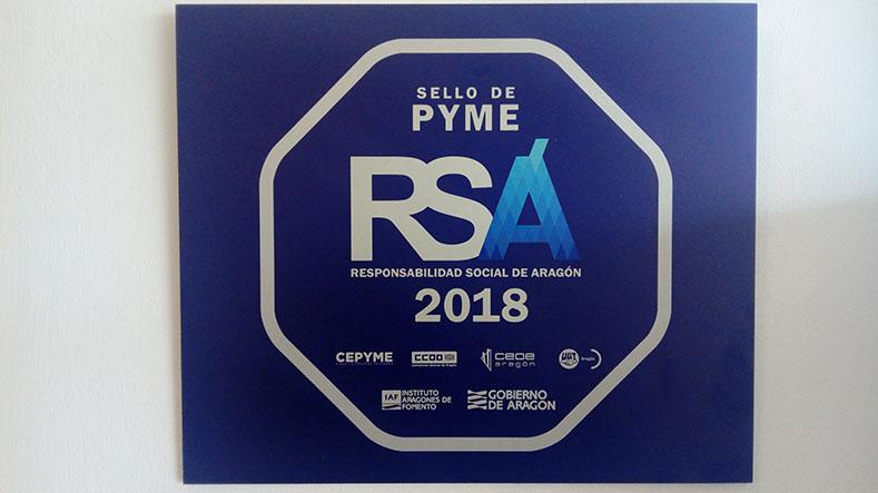 Suministros Herco recibe el Sello RSA en categoría PYME