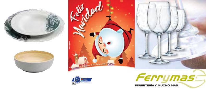 Prepara y presenta tus comidas navideñas con Ferrymas