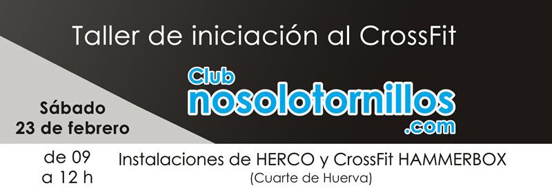 Taller de iniciación al CrossFit con Herco