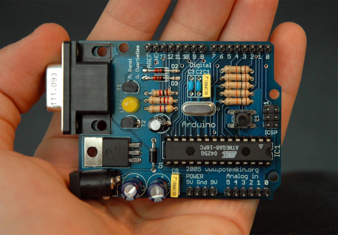 Herco participa en Arduino Day