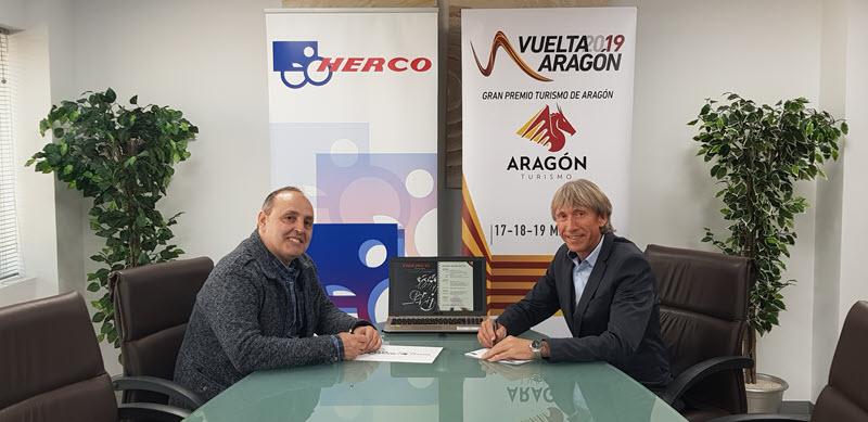 Herco, Suministrador Oficial de la Vuelta Aragón 2019