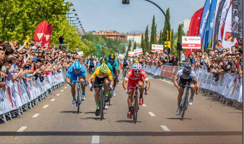 Herco proveedor de la Vuelta Aragon 2019
