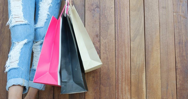 Hacer la compra de forma sostenible sin usar bolsas de plástico