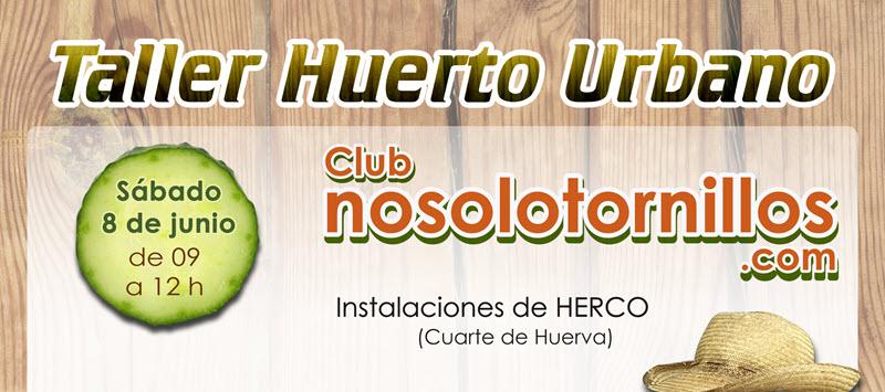 Taller Huerto Urbano en Herco con Simon Rack