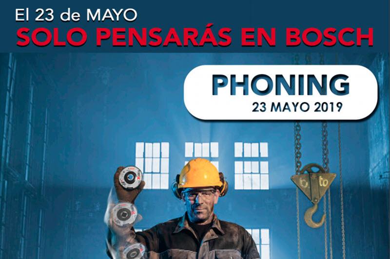 Phoning Bosch 2019 en Suministros Herco