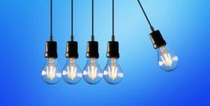 Iluminación LED para el cambio de hora