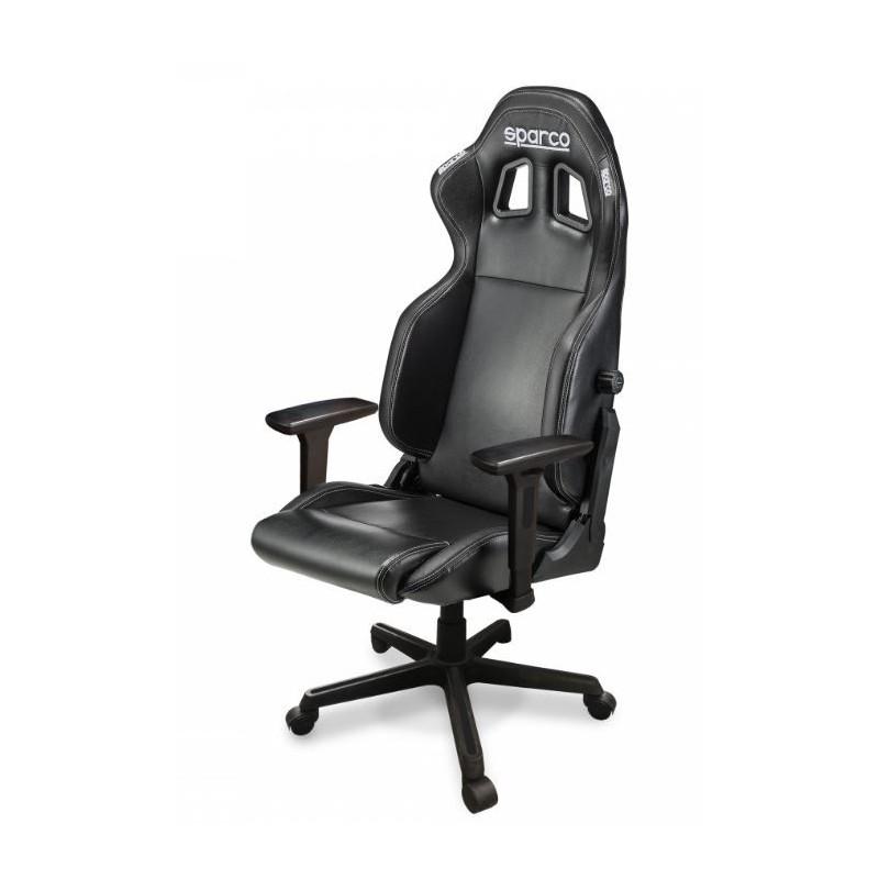 Silla de oficina para mantener ergonomía con la Sparco R100s
